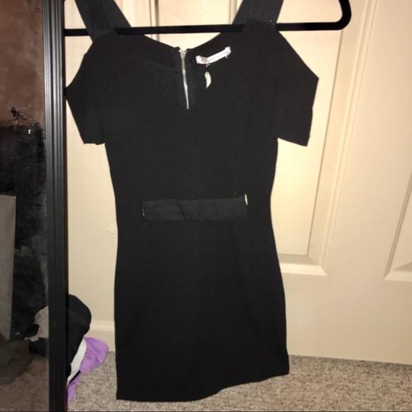 cedc6af4294 NWT LF Mika   Gala Black Bodycon Dress